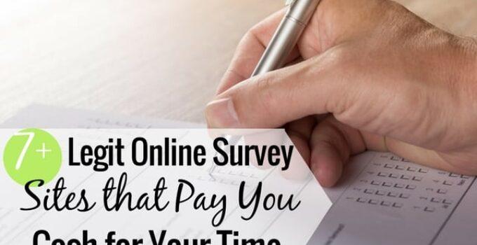 Legit Paid Survey Sites